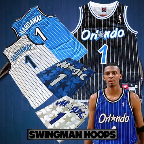 wholesale dealer c0720 2f320 Anfernee Penny Hardaway Orlando Magic Jerseys