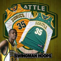 Kevin Durant Seattle Supersonics Jerseys