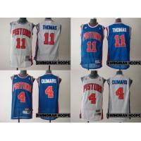 Isiah Thomas/Joe Dumars Detroit Pistons Hardwood Classics Jerseys
