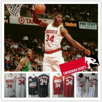 Hakeem Olajuwon Houston Rockets Hardwood Classics Jerseys