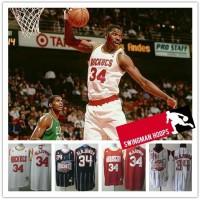 Hakeem Olajuwon Houston Rockets Hardwood Classics Jerseys