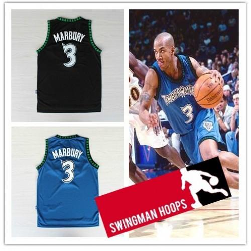 5dd12e9ca9e Stephon Marbury Minnesota Timberwolves Hardwood Classics Jerseys