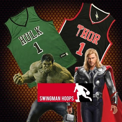 Marvel'sThe Avengers - Thor and Hulk Jerseys