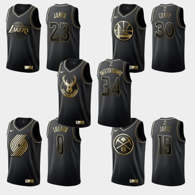 *Golden Edition Swingman Jerseys