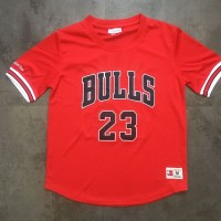 *Michael Jordan M&N Chicago Bulls Sleeved Jersey - Super AAA Quality