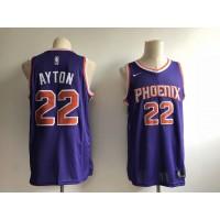 DaAndre Ayton Phoenix Suns Purple Jersey