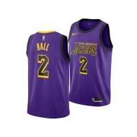 Lonzo Ball Los Angeles Lakers 2019 City Edition Jersey