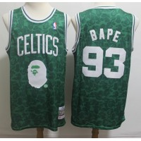 BAPE X Mitchell & Ness Special Edition Boston Celtics Jersey - Swingman Version