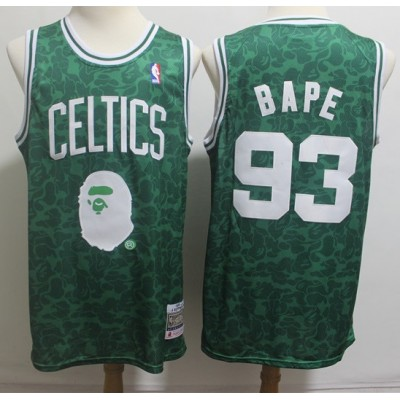 BAPE X Mitchell & Ness Special Edition Boston Celtics Jersey - Swingman Version