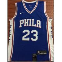 Jimmy Butler Philadelphia 76ers Blue Jersey