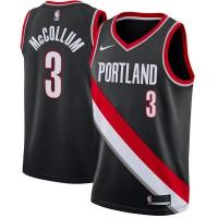 CJ McCollum Portland Trail Blazers Black Jersey
