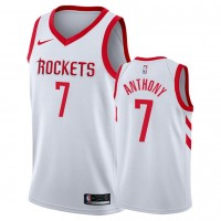 Carmelo Anthony White Houston Rockets Jersey