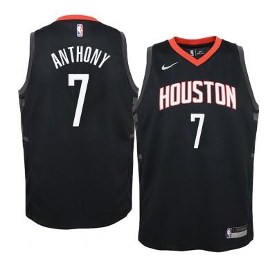 Carmelo Anthony Black Houston Rockets Jersey