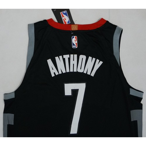 pretty nice c6e1b a8362 Carmelo Anthony Black Houston Rockets Jersey
