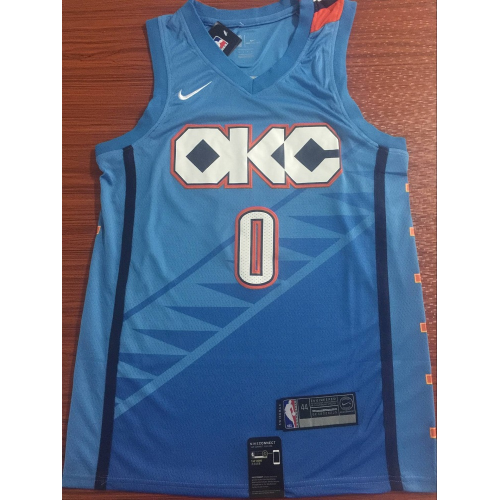 sports shoes bbc41 3dc6c Russell Westbrook 2018-19 Oklahoma City Thunder City Edition ...