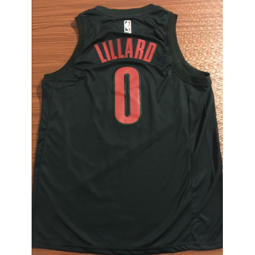 promo code c4155 bfc64 Damian Lillard 2018-19 Portland Trail Blazers City Edition ...