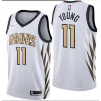 Trae Young 2018-19 Atlanta Hawks City Edition Jersey