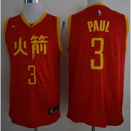timeless design 62ef9 b2661 Chris Paul 2018-19 Houston Rockets City Edition Jersey