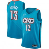 Paul George 2018-19 Oklahoma City Thunder City Edition Jersey