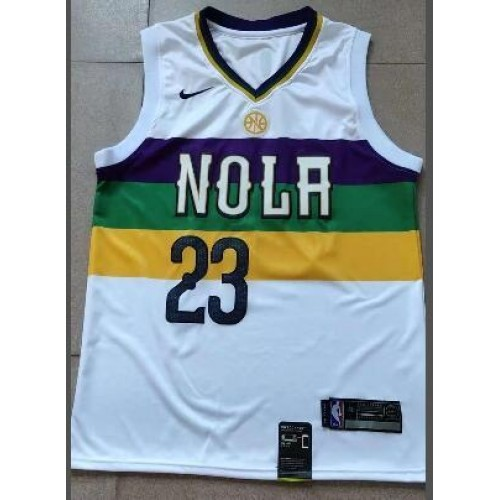 promo code b2842 c50ae Anthony Davis 2018-19 New Orleans Pelicans City Edition Jersey