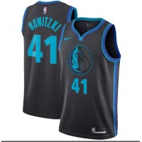Dirk Nowitzki 2018-19 Dallas Mavericks City Edition Jersey