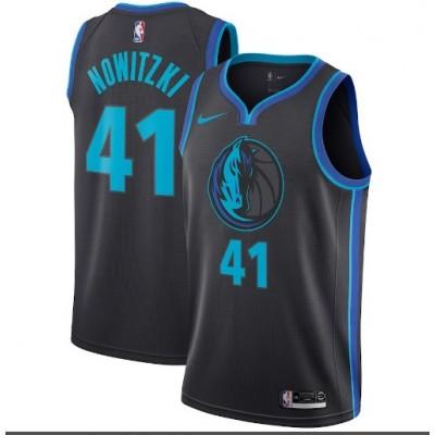 Dirk Nowitzki 2018-19 Dallas Mavericks City Edition Jersey