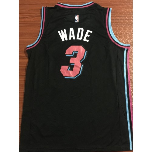 differently d66cd 63284 Dwyane Wade 2018-19 Miami Heat City Edition Jersey