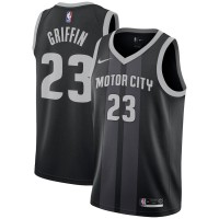 Blake Griffin 2018-19 Detroit Pistons City Edition Jersey