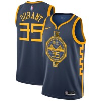 Kevin Durant 2018-19 Golden State Warriors City Edition Jersey