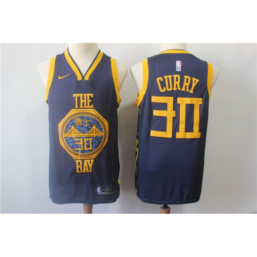 timeless design 6c0ab 5434b Stephen Curry 2018-19 Golden State Warriors City Edition Jersey