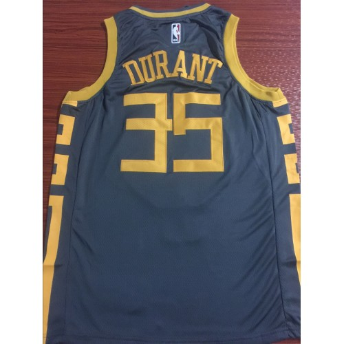 separation shoes afd33 762b3 Kevin Durant 2018-19 Golden State Warriors City Edition Jersey