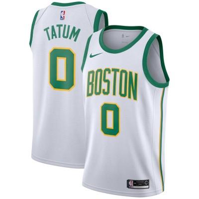 Jayson Tatum 2018-19 Boston Celtics City Edition Jersey