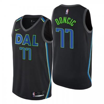 Luka Dončić Dallas Mavericks 2017-18 City Jersey
