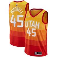 Donovan Mitchell Utah Jazz  2017-18 City Edition Jersey