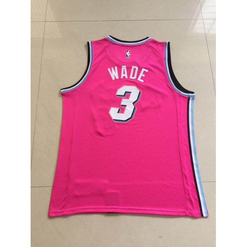 brand new 0c018 8f140 Dwyane Wade 2018-19 Miami Heat Earned Edition Jersey
