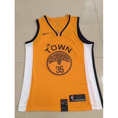 buy popular ef65c bfb04 Kevin Durant 2018-19 Golden State Warriors Earned Edition Jersey