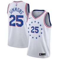 Ben Simmons 2018-19 Philadelphia 76ers Earned Edition Jersey