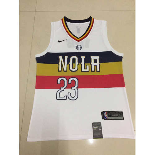 771c993591b Anthony Davis 2018-19 New Orleans Pelicans Earned Edition Jersey