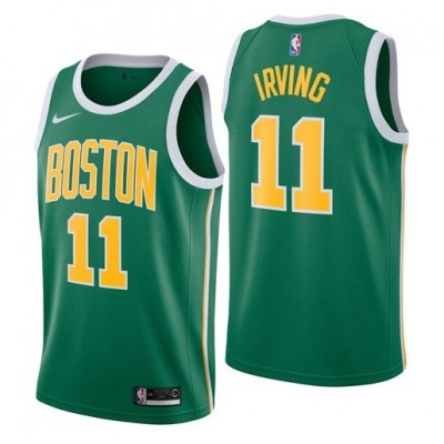 Kyrie Irving 2018-19 Boston Celtics Earned Edition Jersey