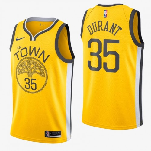 buy popular e7fde 92039 Kevin Durant 2018-19 Golden State Warriors Earned Edition Jersey