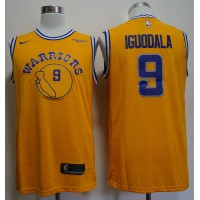 Andre Iguodala 2019 Golden State Warriors Yellow Jersey