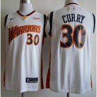 "Stephen Curry Golden State Warriors Throwback White ""We Believe"" Jersey"