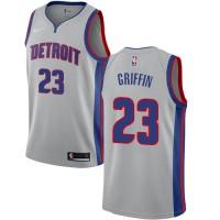 Blake Griffin Detroit Pistons Grey Jersey