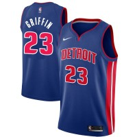 Blake Griffin Detroit Pistons Blue Jersey