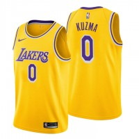 Kyle Kuzma Los Angeles Lakers 2019 Yellow Jersey