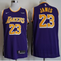 LeBron James Los Angeles Lakers 2019 Statement Purple Jersey