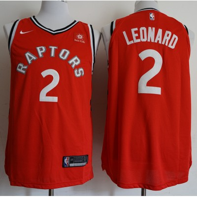 Kawhi Leonard Toronto Raptors Red Jersey