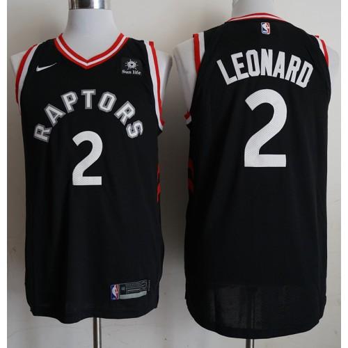 official photos 02ee4 36ee2 Kawhi Leonard Toronto Raptors Black Jersey