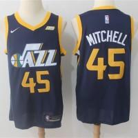 Donovan Mitchell Utah Jazz Navy Blue Jersey
