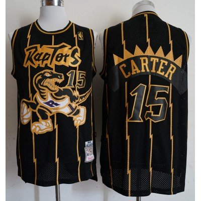 Vince Carter Toronto Raptors Black & Gold Special Edition